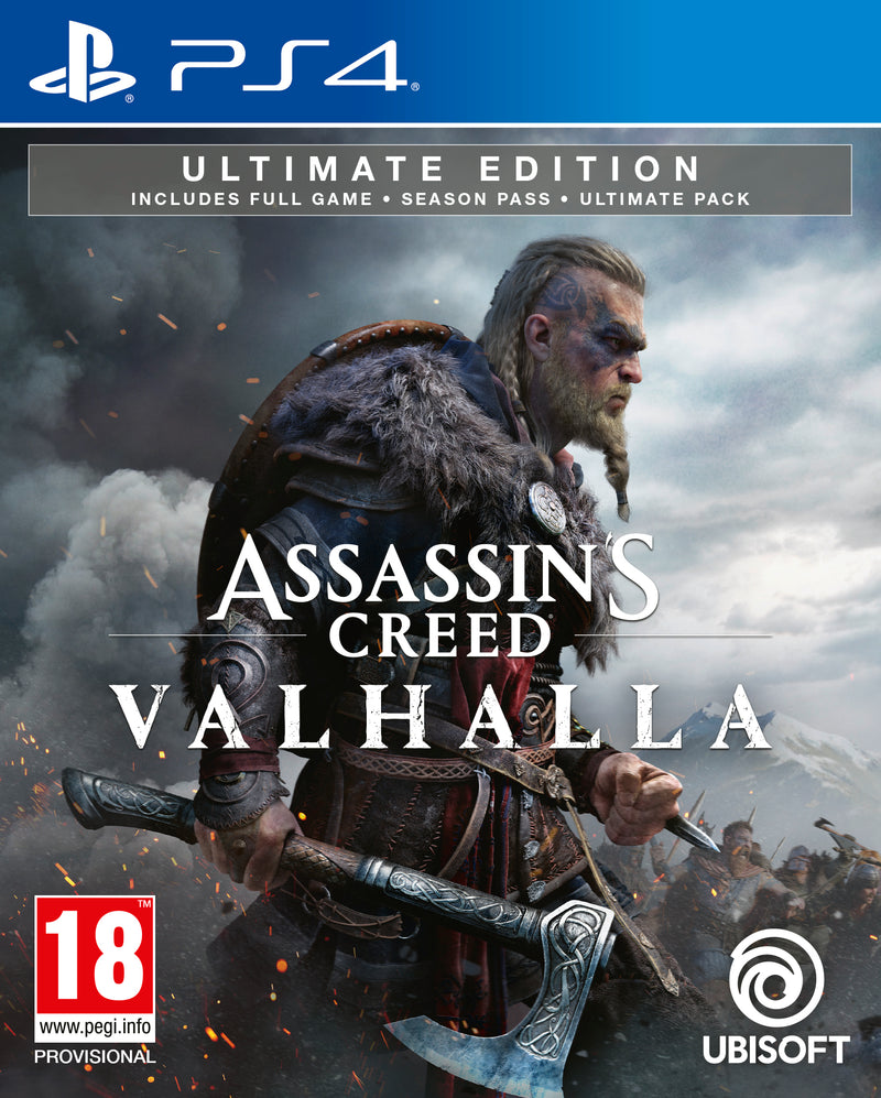 PS4 - Assassin's Creed: VALHALLA - Ultimate Edition