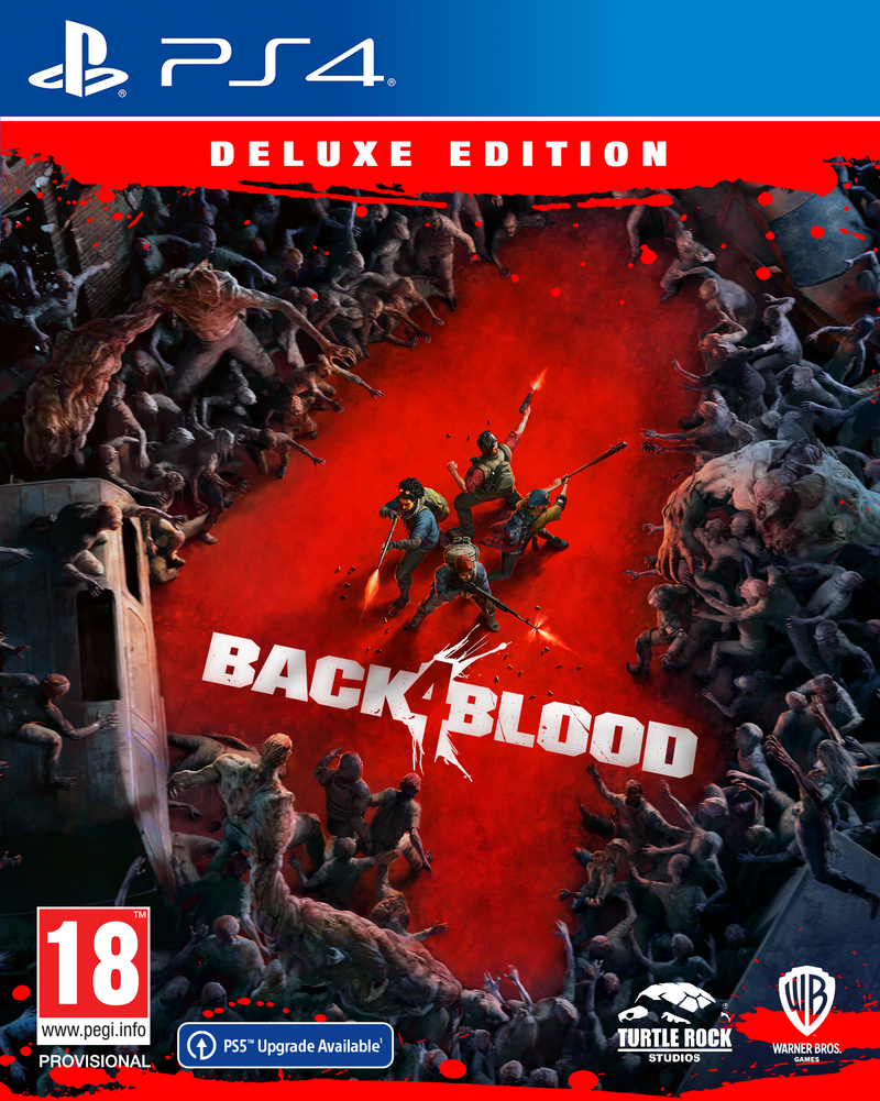 PS4 - BACK 4 BLOOD: Deluxe Edition