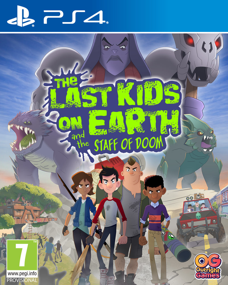 PS4 - THE LAST KIDS ON EARTH AND THE STAFF OF DOOM