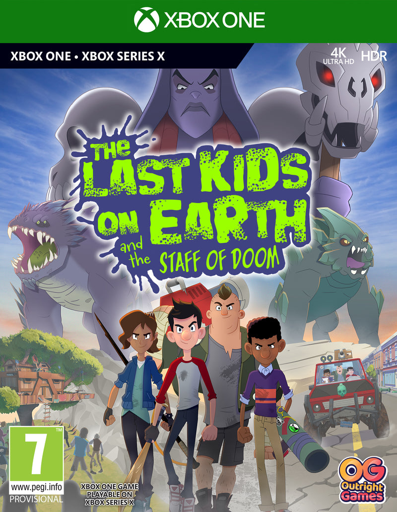 XBOX ONE - THE LAST KIDS ON EARTH AND THE STAFF OF DOOM