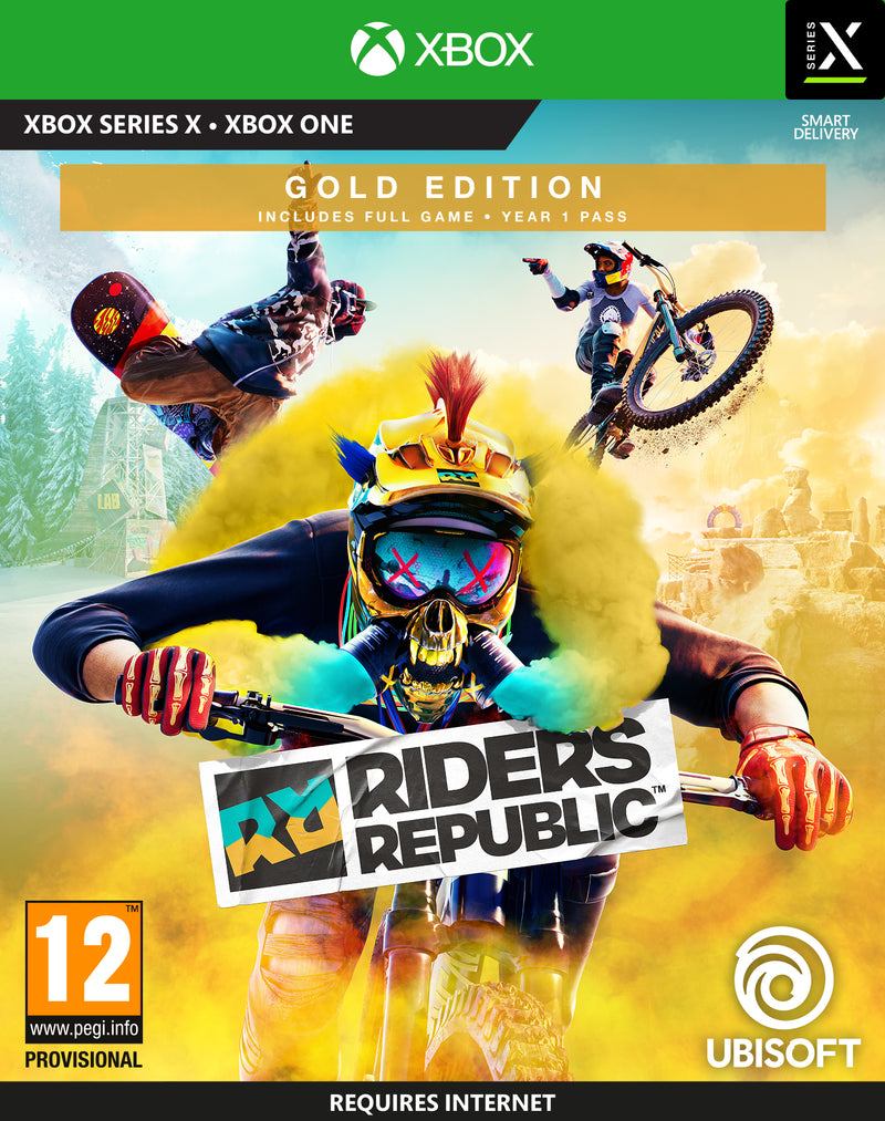 XBOX ONE/XS - RIDERS REPUBLIC: Gold Edition