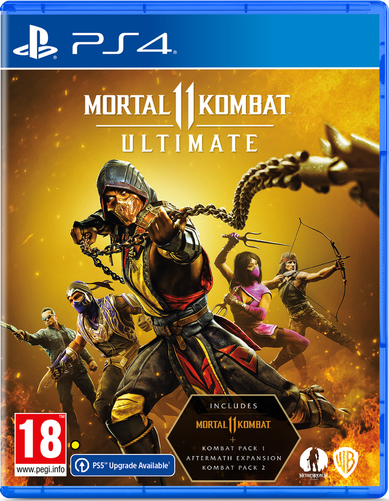 PS4 - Mortal Kombat 11 ULTIMATE