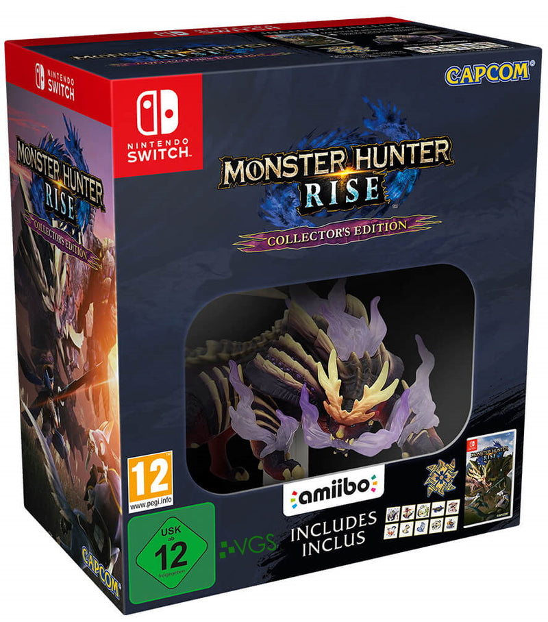 Nintendo Switch - Monster Hunter Rise: Collectors Edition