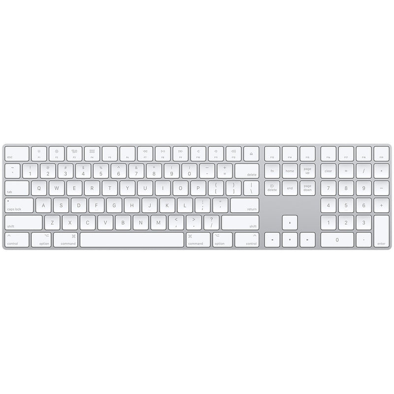 מקלדת אלחוטית Apple Magic keyboard 2 Numerical Bluetooth