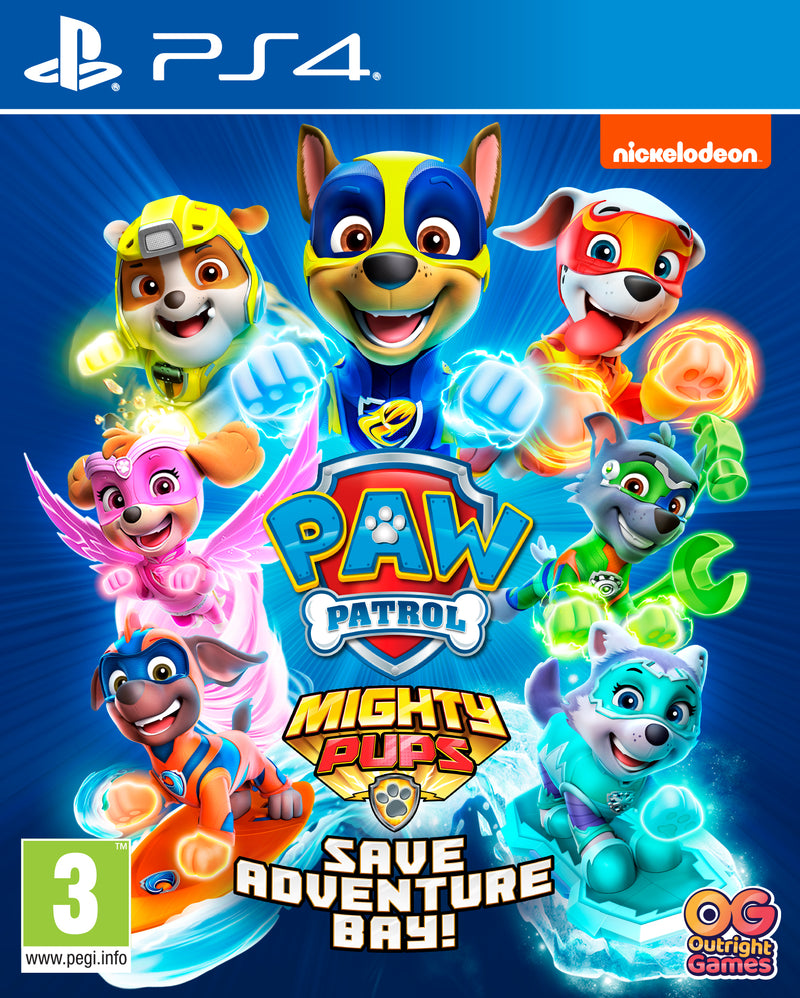 PS4 - PAW PATROL: Mighty Pups Save Adventure Bay!