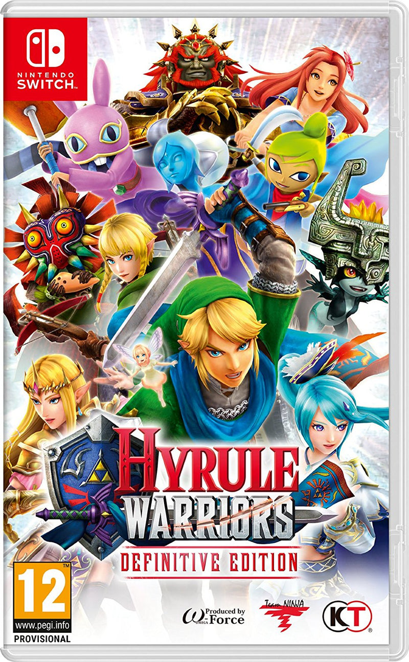 Nintendo Switch - Hyrule Warriors DEINITIVE EDITION