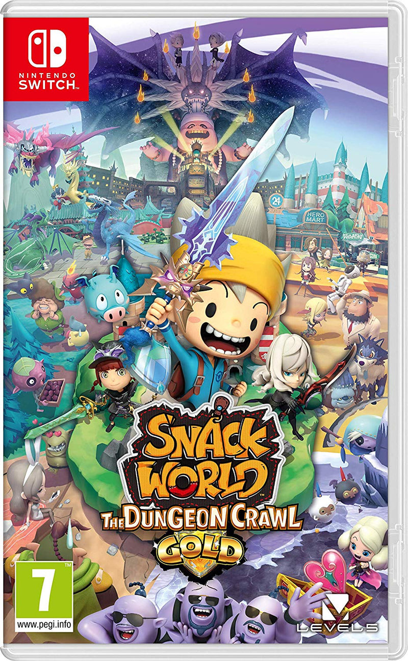 Nintendo Switch - Snack World GOLD