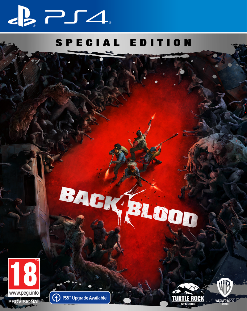 PS4 - BACK 4 BLOOD: Special Edition
