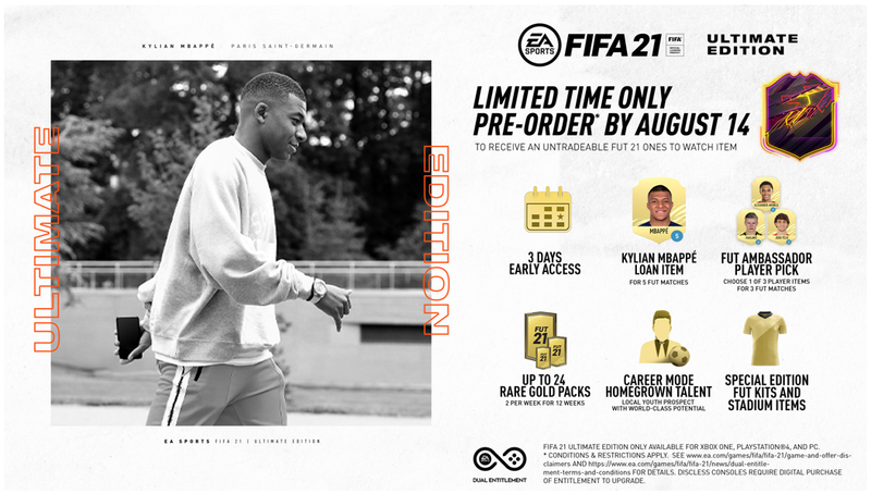 PS4 - FIFA 21: Ultimate Edition