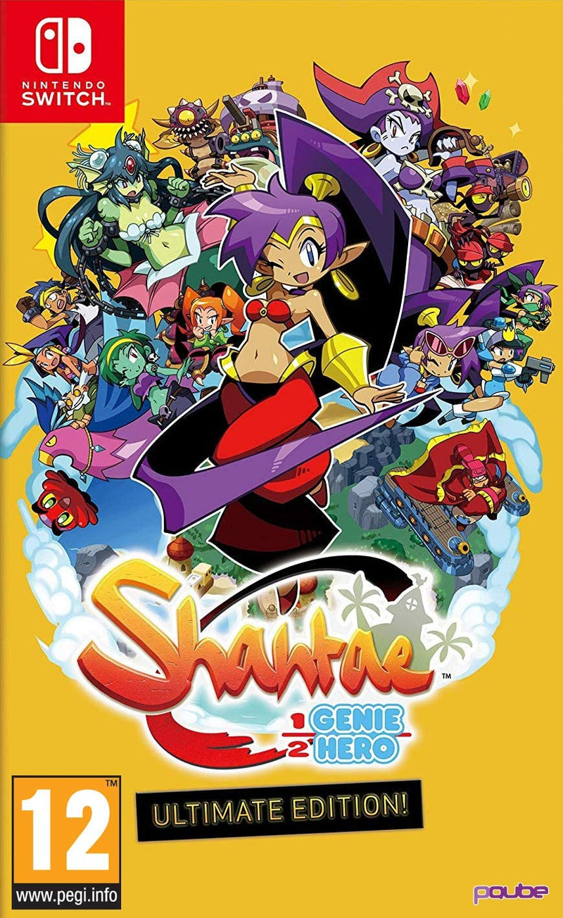Nintendo Switch - Shantae: Half Genie Hero