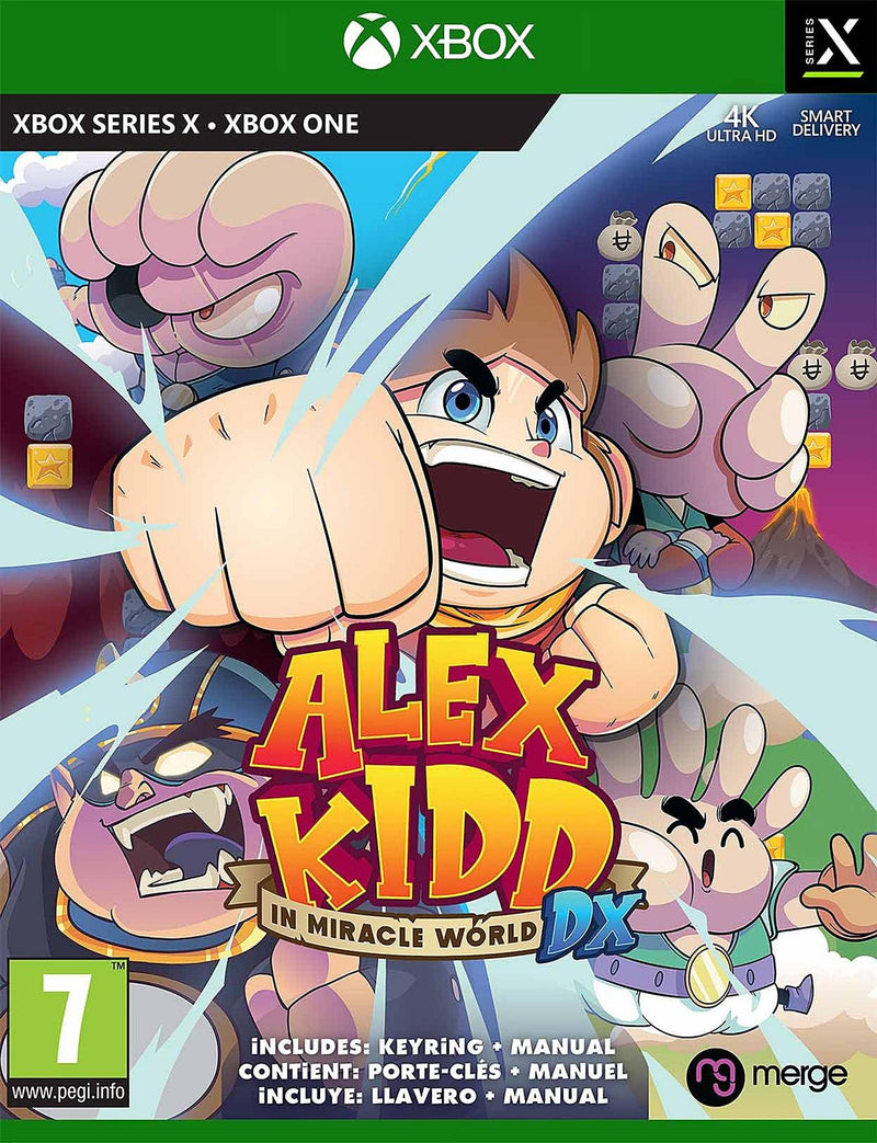 XBOX - ALEX KIDD IN MIRACLE WORLD DX