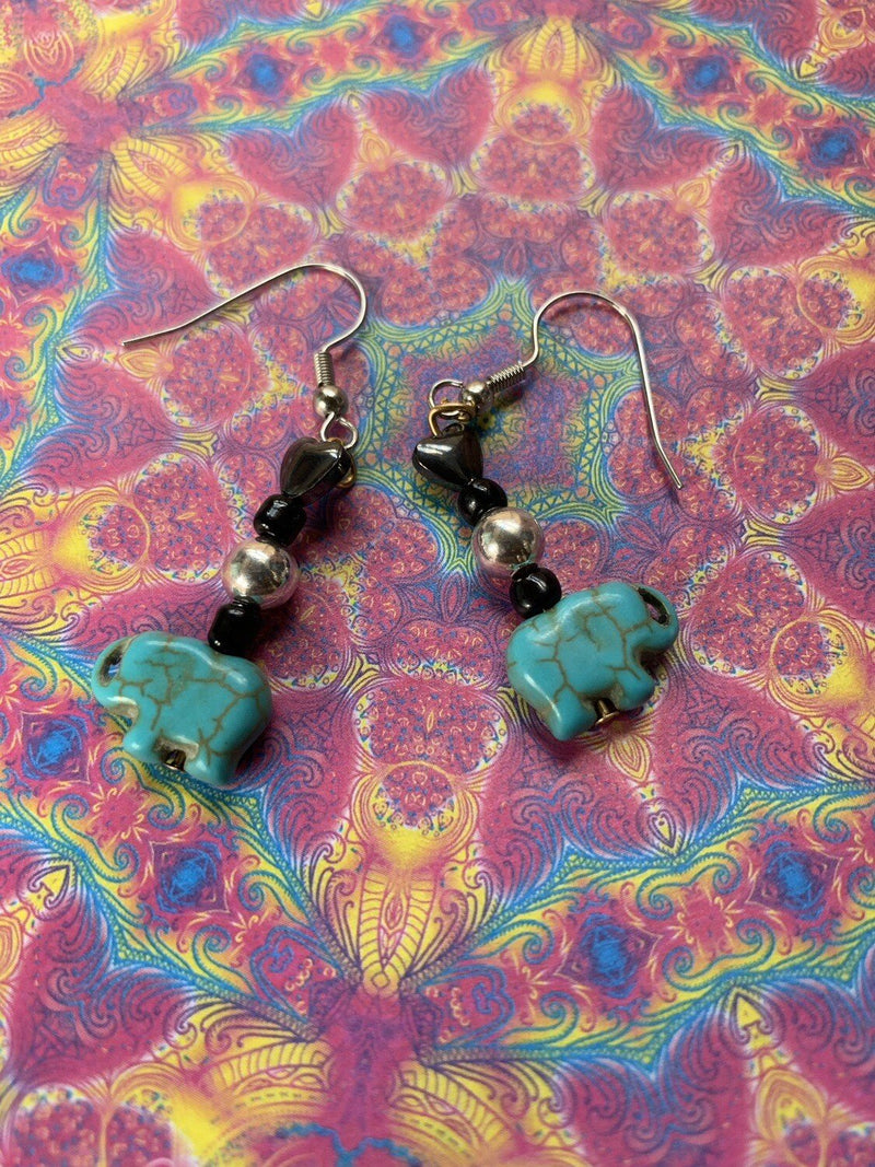 Elephant Dreams Earrings - Gaia's Whole Healing Essentials