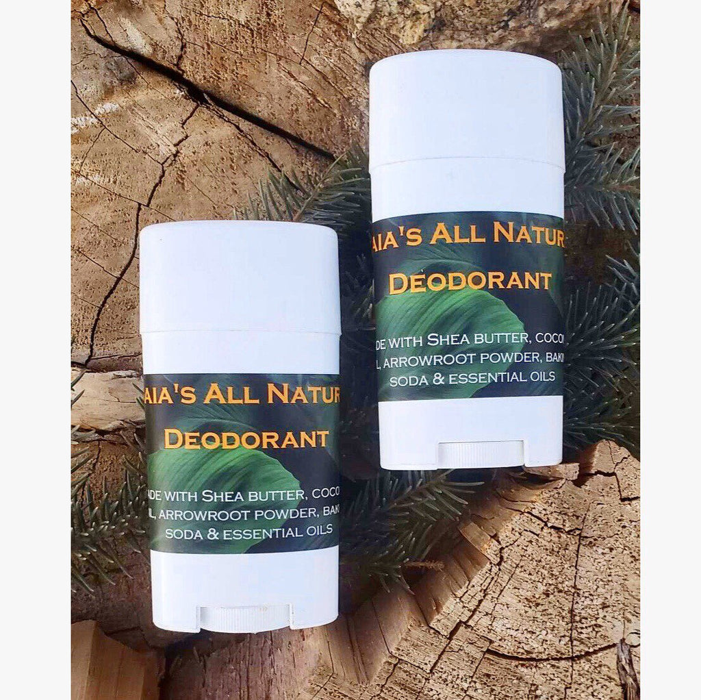 Gaia's All Natural Deodorant - Gaia's Whole Healing Essentials