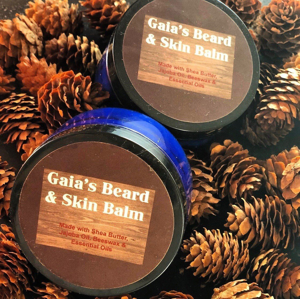 Gaia's Beard & Skin Balm - Gaia's Whole Healing Essentials