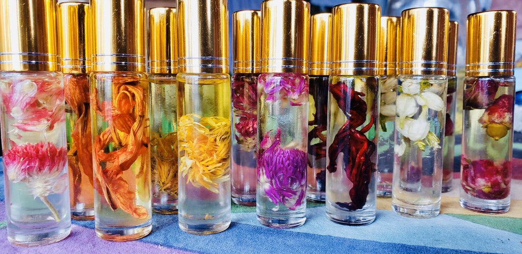 Chakra Oil Set - Gaia's Whole Healing Essentials