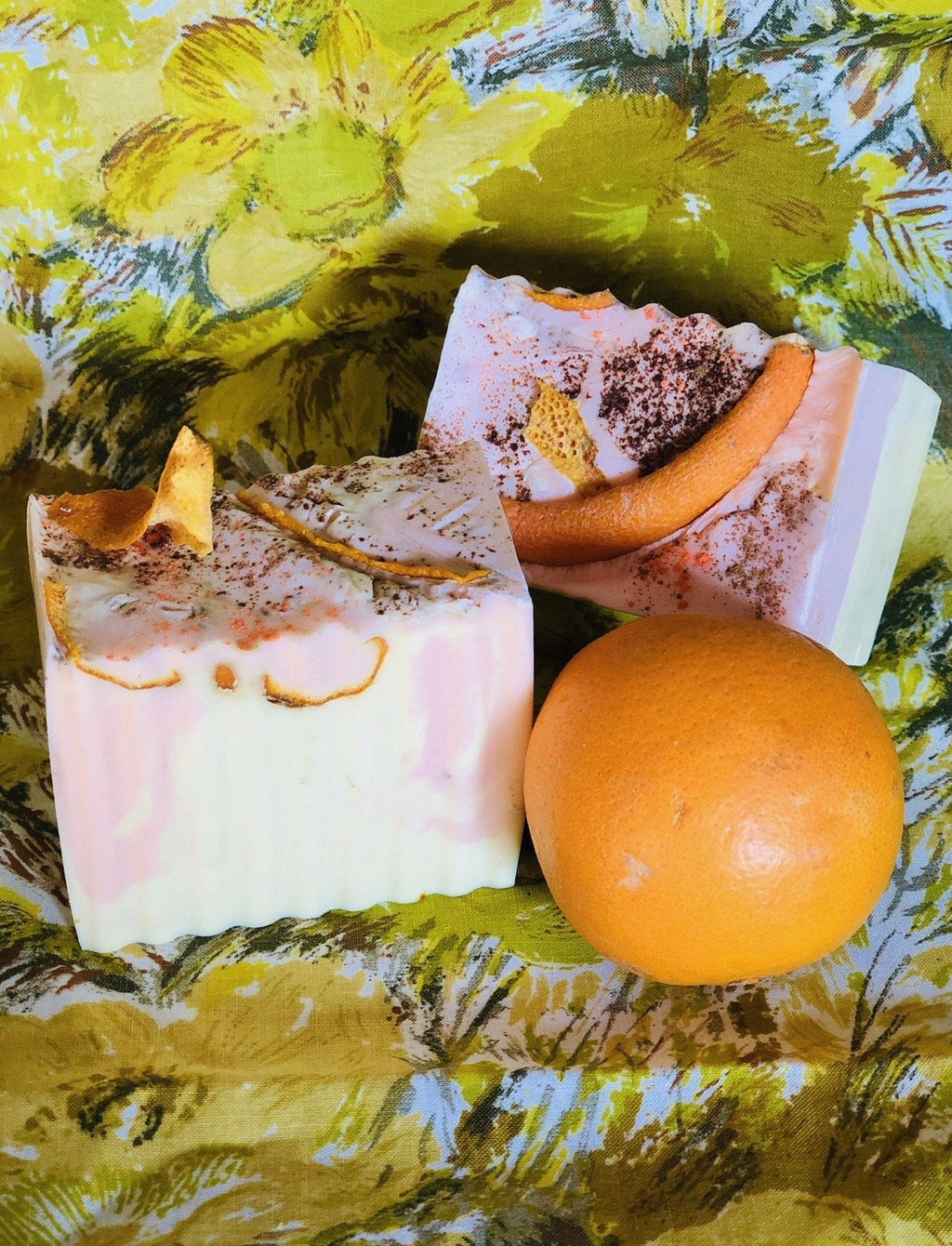 Luxury Cinnamon, Orange & Turmeric Soap - Gaia's Whole Healing Essentials