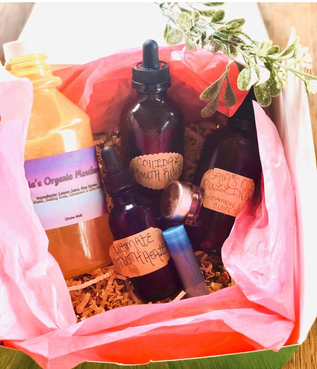 Gaia's Mouth Healing Kit - Gaia's Whole Healing Essentials