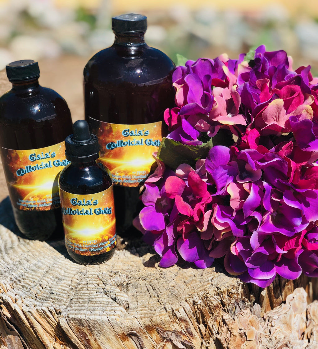 Gaia's Colloidal Gold - Gaia's Whole Healing Essentials