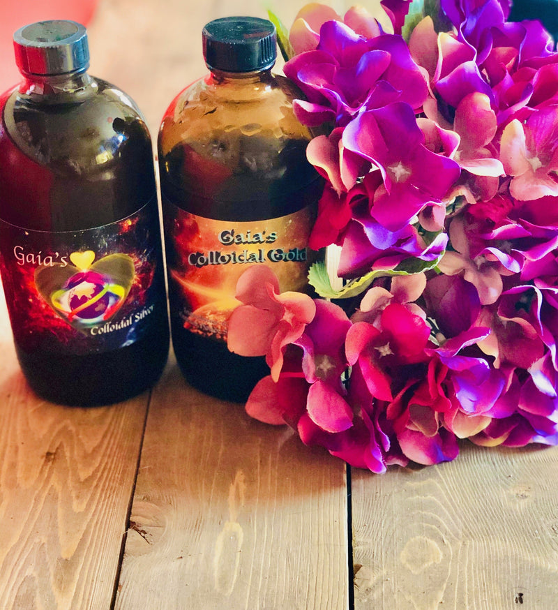 Gaia's Colloidal Gold & Silver Package - Gaia's Whole Healing Essentials