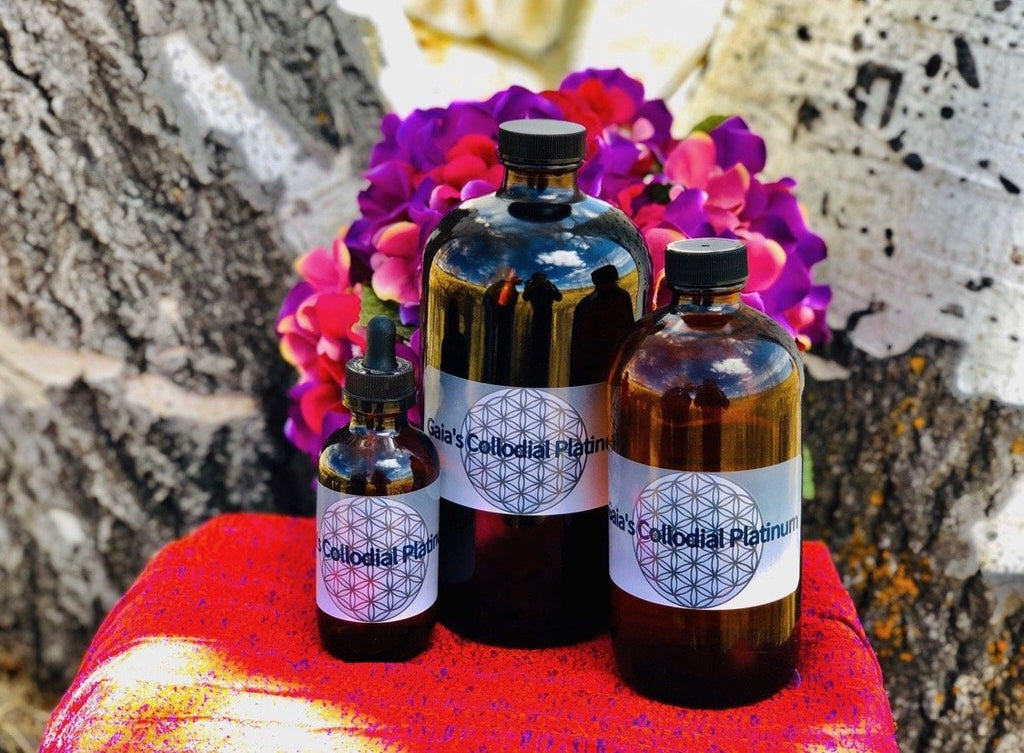 Gaia's Colloidal Platinum - Gaia's Whole Healing Essentials
