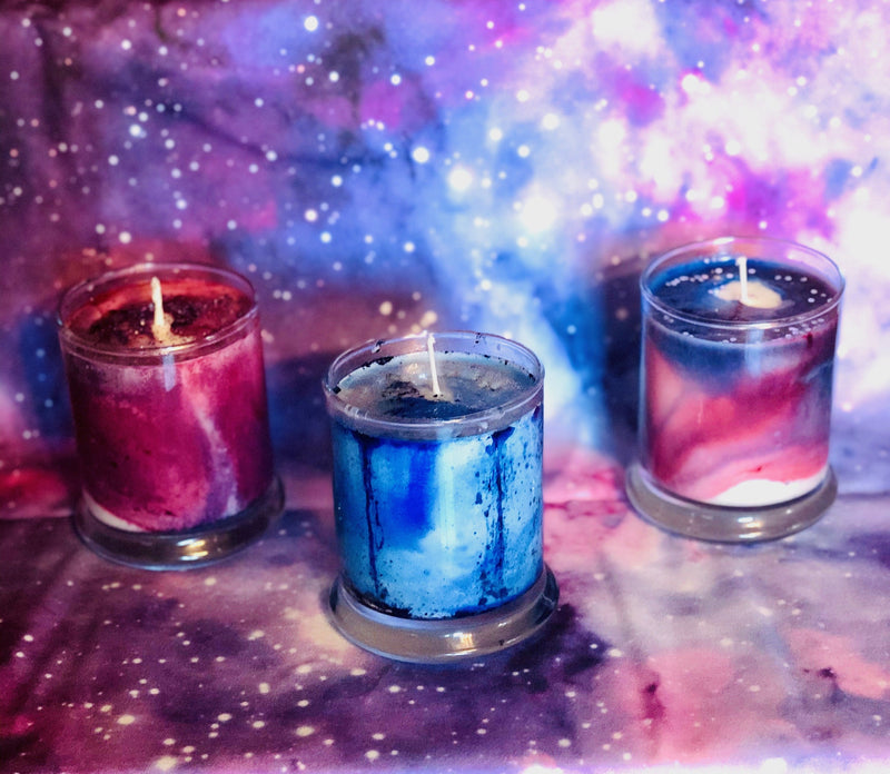 Galaxy Candle Collection - Gaia's Whole Healing Essentials