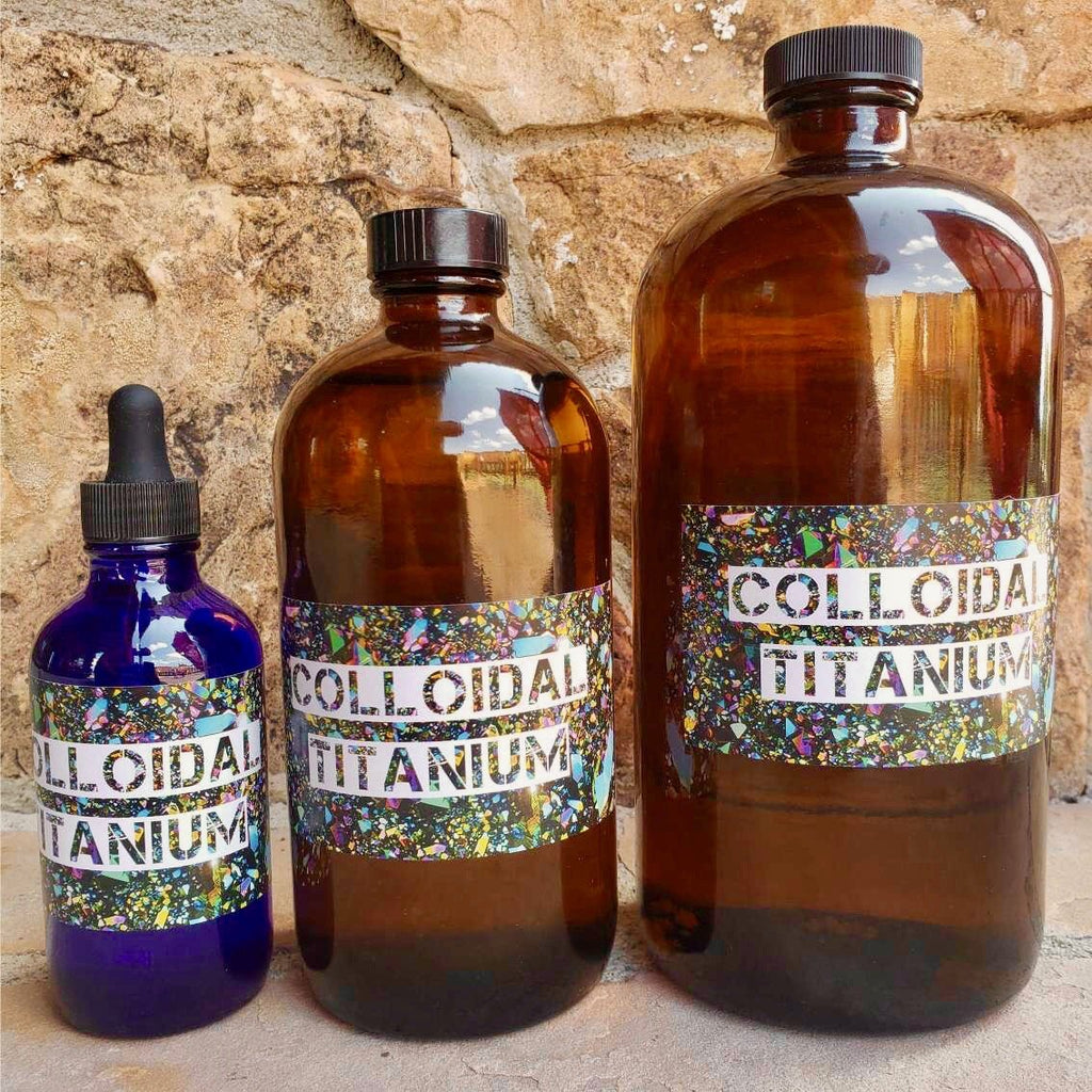 Colloidal Titanium - Gaia's Whole Healing Essentials