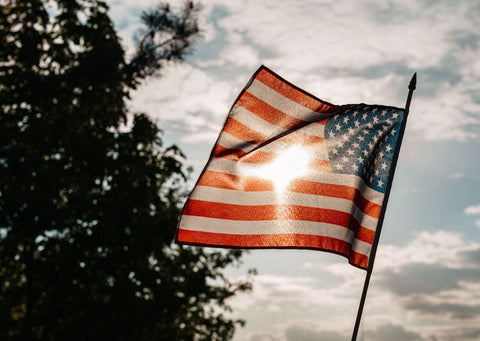 American Flag for Memorial Day