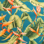 Load image into Gallery viewer, Birds of paradise print fabric
