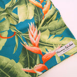 Load image into Gallery viewer, Birds of Paradise Floral Print Gift Wrap Furoshiki | Eco Wrapping Cloth Small