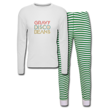 Load image into Gallery viewer, Unisex Pajama Set - Gravy Disco Beans