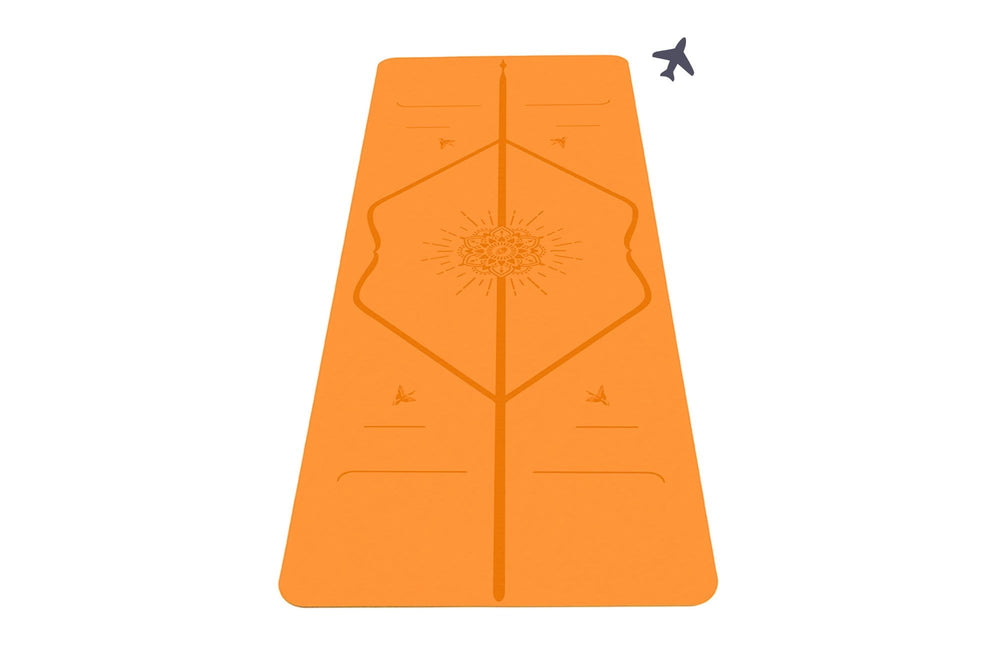 Liforme Happiness Travel Mat - Vibrant Orange image 1