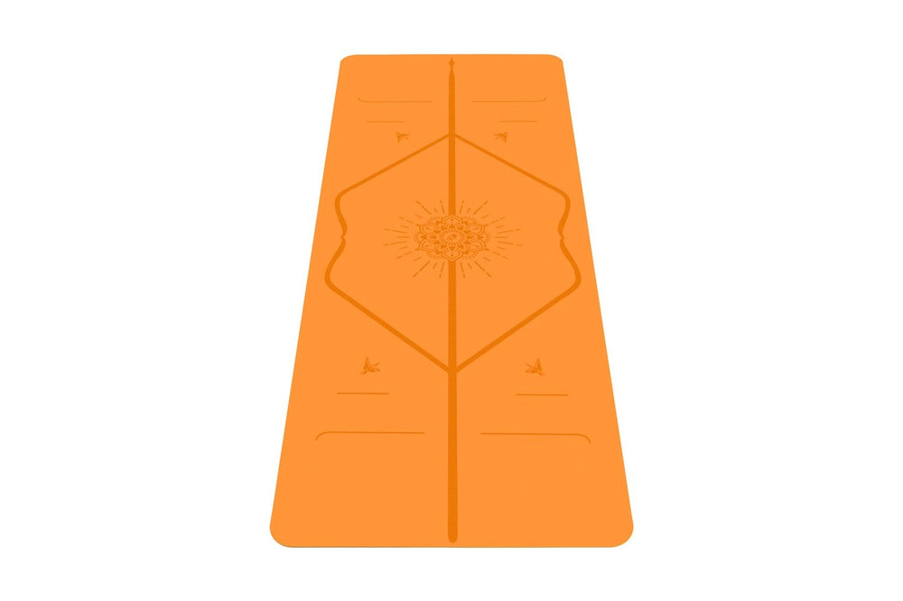 Liforme Happiness Travel Mat - Vibrant Orange image 8