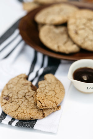 Load image into Gallery viewer, One dozen maple pecan cookies perfect for fall and makes for a great holiday season gift!