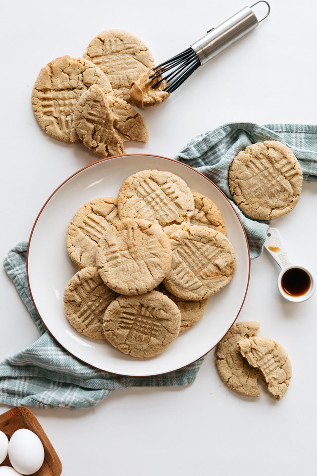 Load image into Gallery viewer, One Dozen Gluten Free / Dairy Free Peanut Butter Cookies
