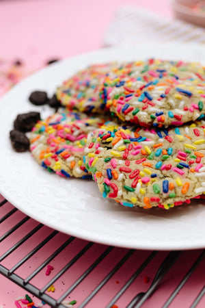 Load image into Gallery viewer, sprinkle cookie with oreos for birthday gift