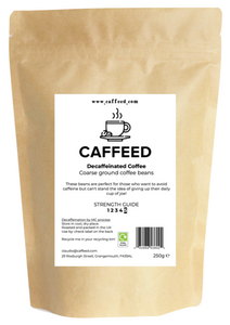 Ground Decaff Coffee - Caffeed