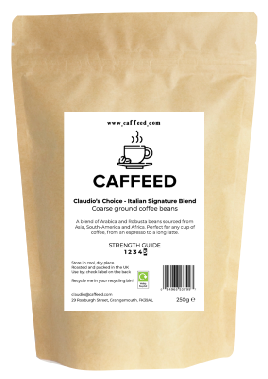 Claudio's Choice-Italian Signature Blend - Caffeed