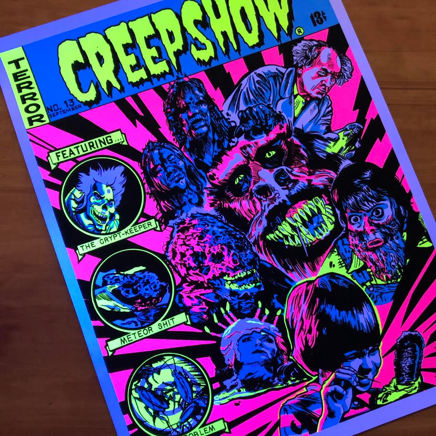 Creepshow Blacklight Poster