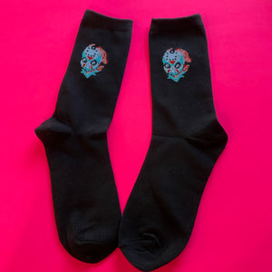 """Black"" Jason Socks"