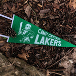 Camp Crystal Lakers Pennant