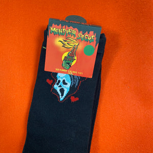 """black "" GhostFace Socks"