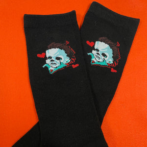 """Black"" Mikey Socks"