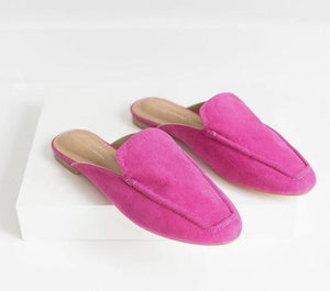 Pink Mules