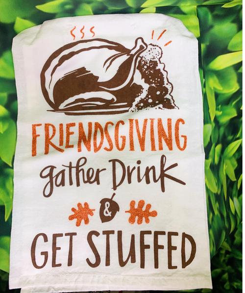 Friendsgiving Tea Towel