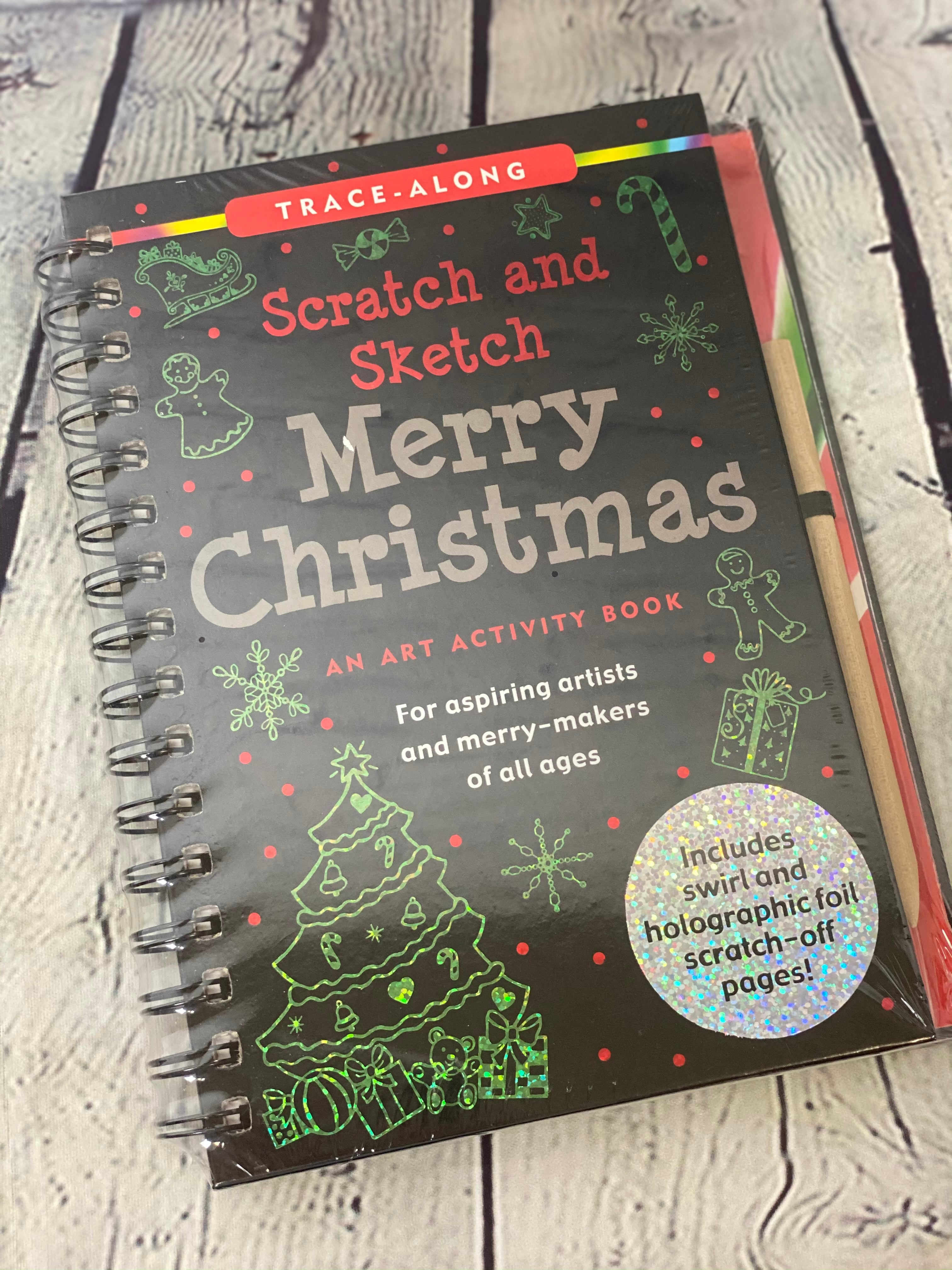 Scratch & Sketch Merry Christmas