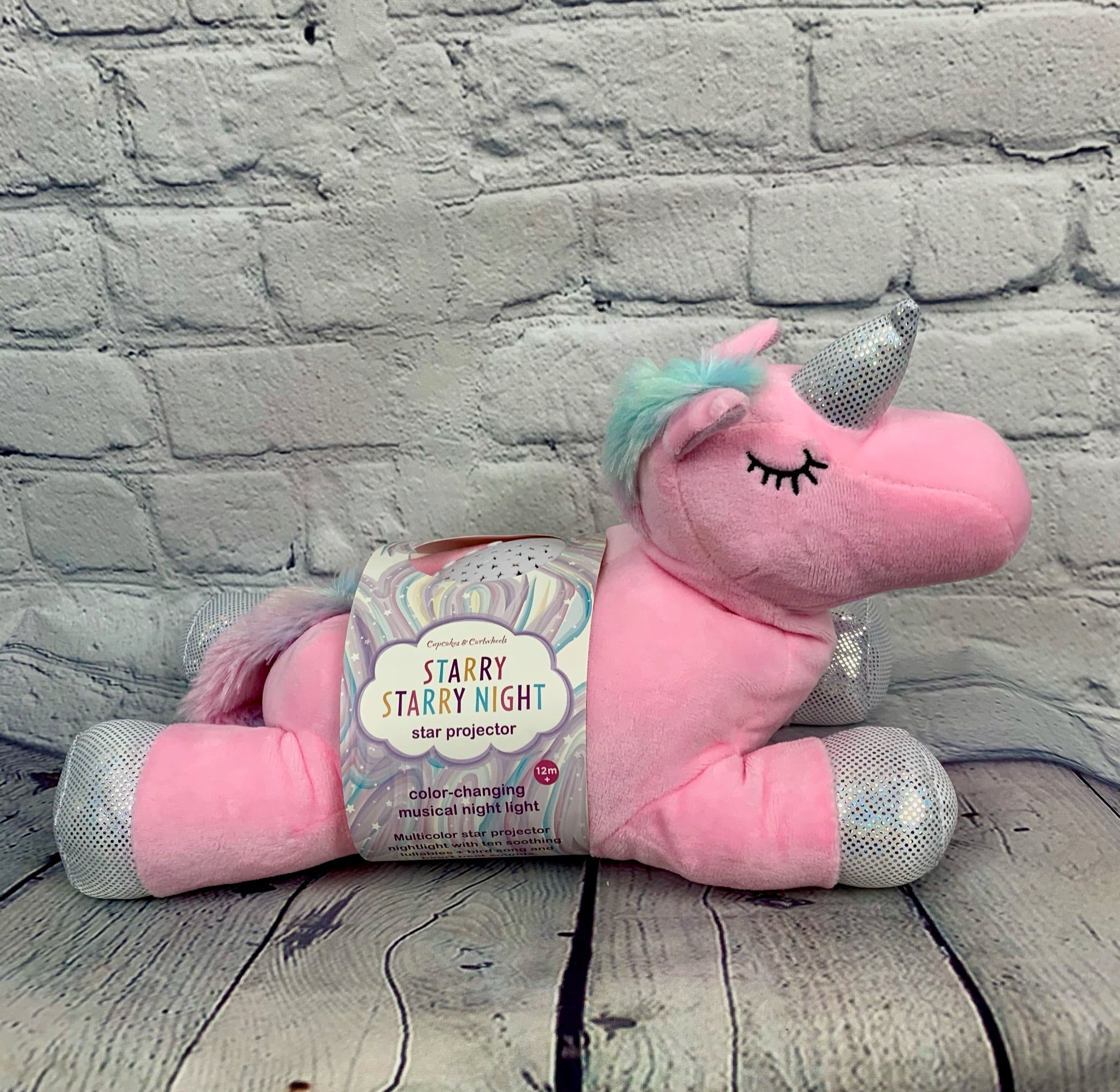 Musical Plush Star Projector Unicorn