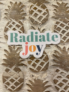 Radiate Joy Sticker
