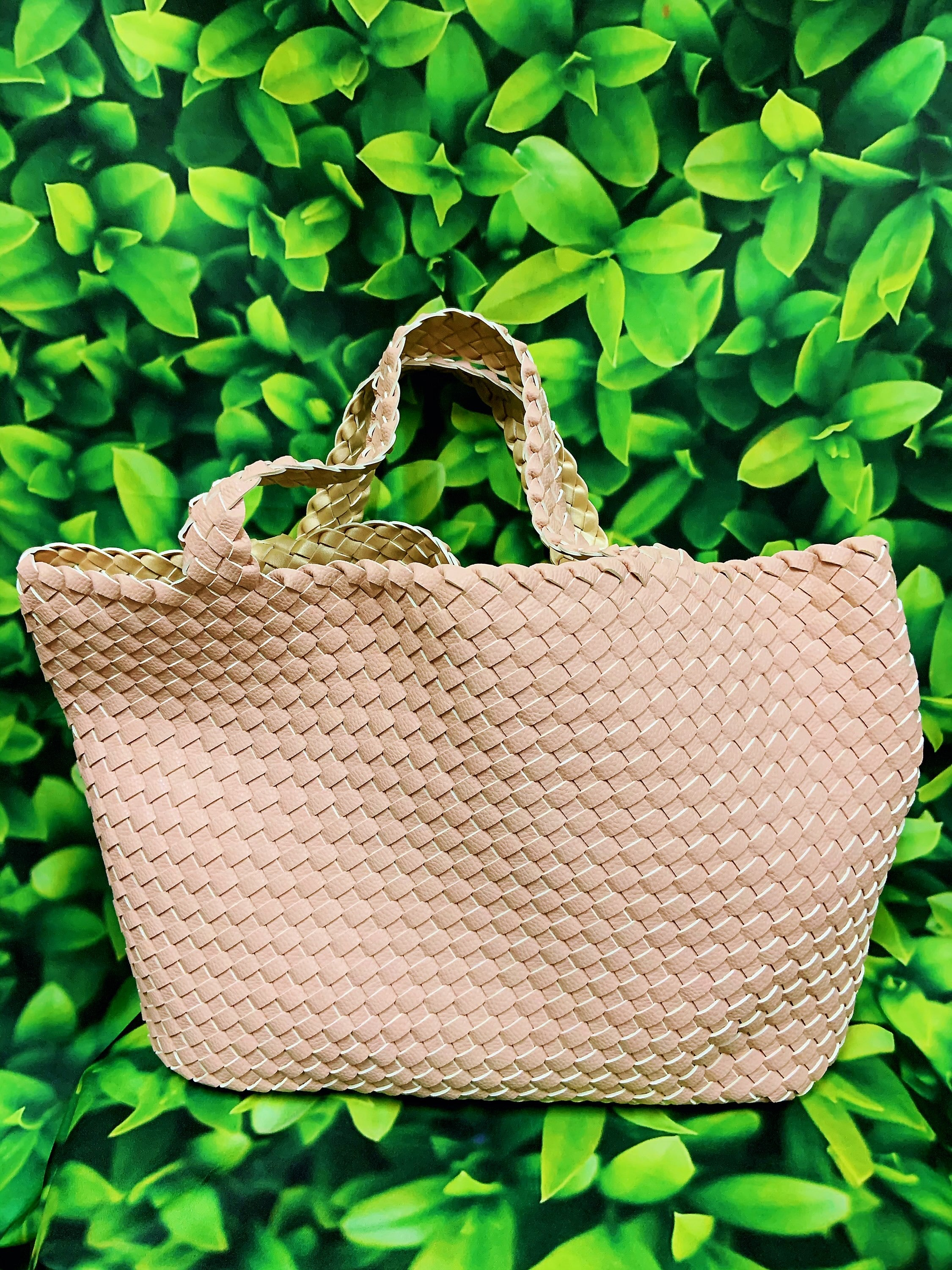Cooper Reversible Tote Blush