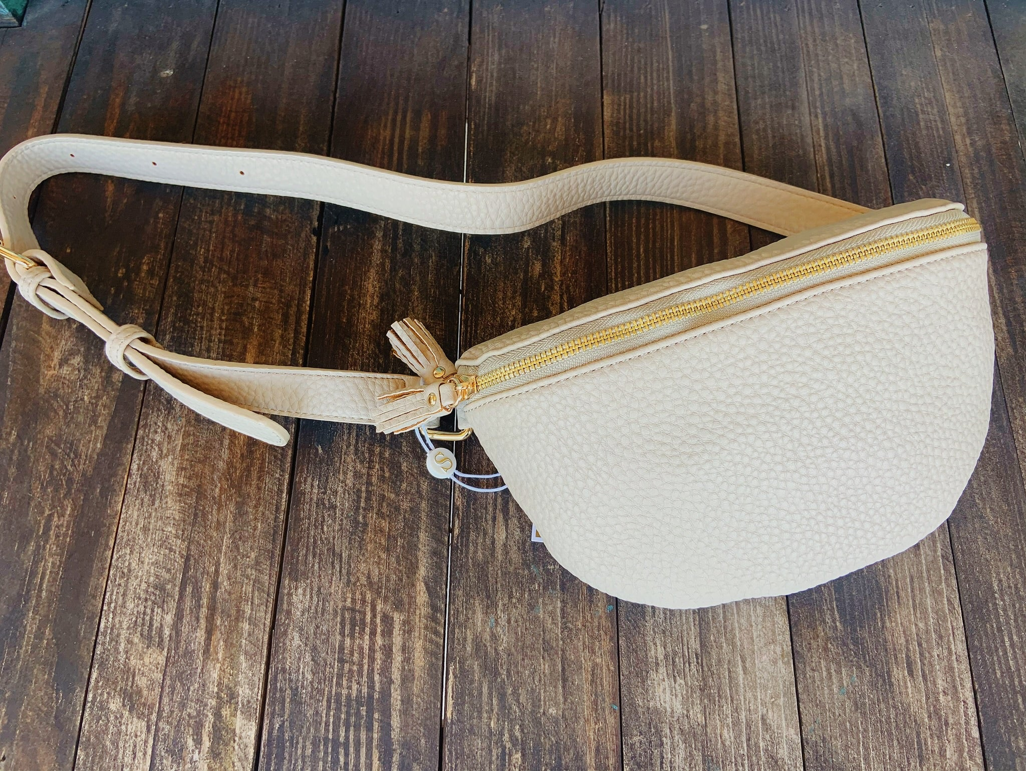 Daria Fanny Pack Ivory