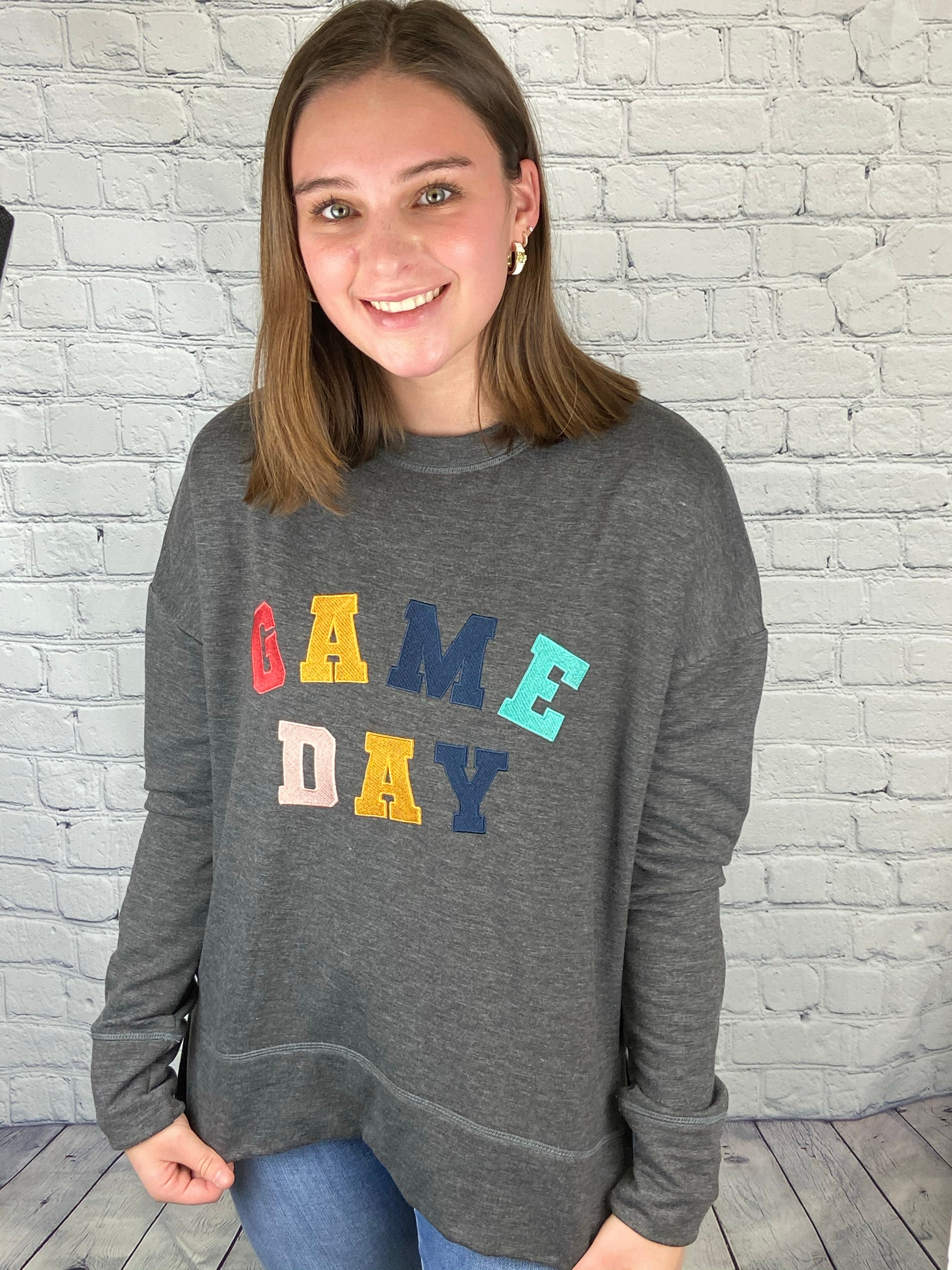 Game Day Colorful Sweatshirt